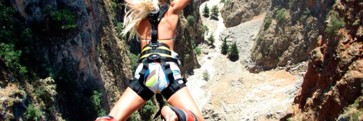 Прыжки с высоты на Крите (фото 2)
