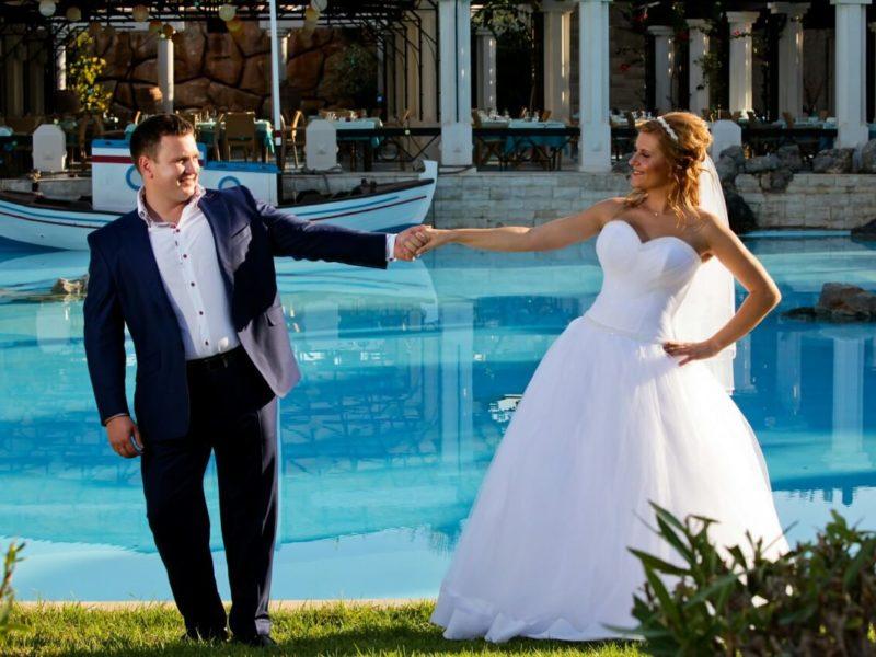 Свадебная церемония на яхте, остров Крит (фото 2)