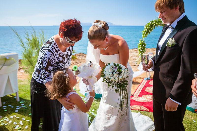 Свадьба на острове Крит (фото)