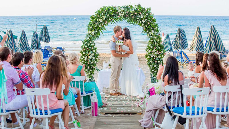 Церемония бракосочетания на Крите (фото)