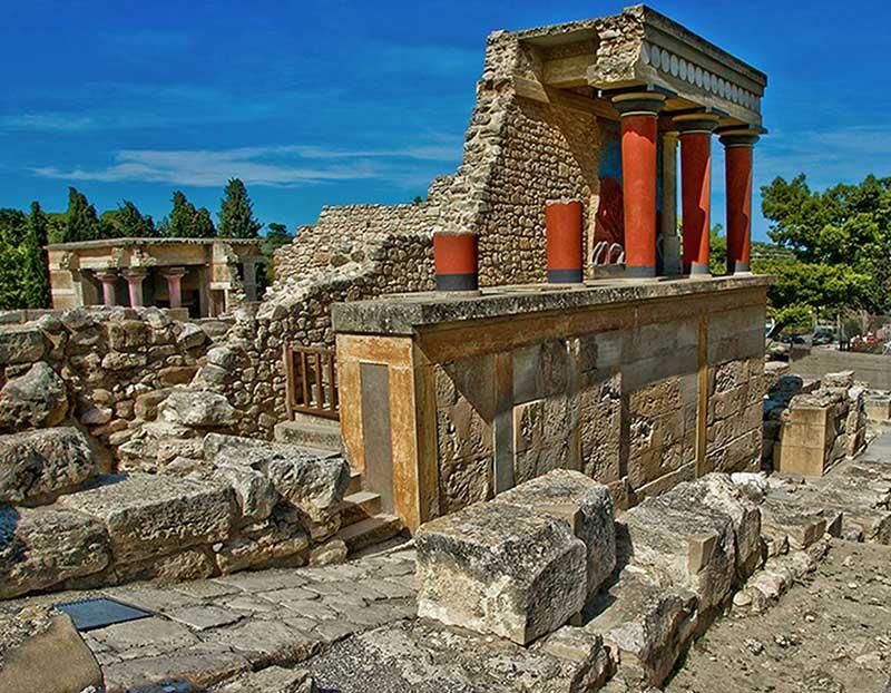 Гид на Крите. Кносский дворец