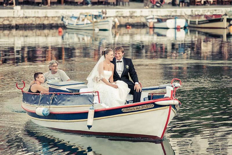 Волшебная свадьба на Крите (фото)