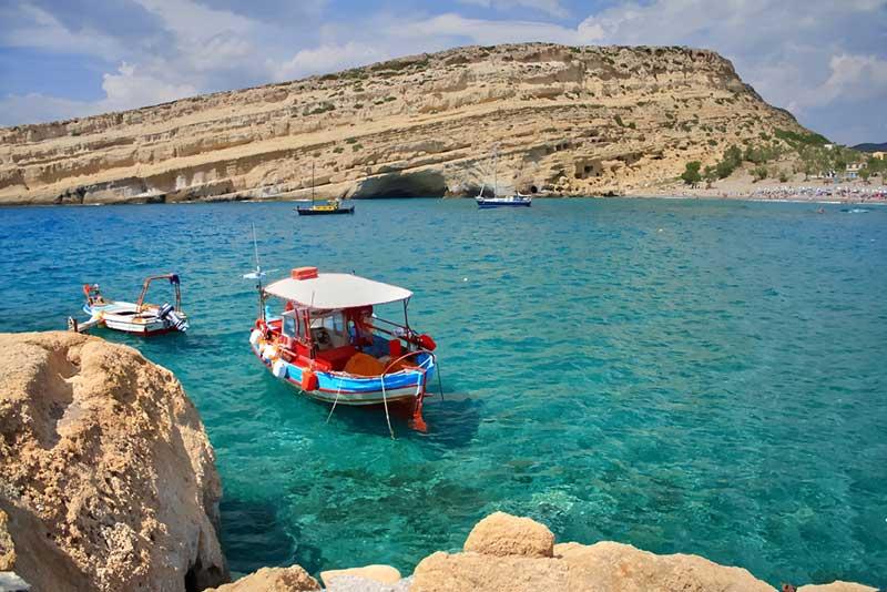 Экскурсовод на Крите. Фото острова